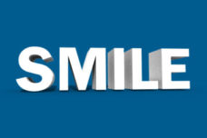 SMILE text image