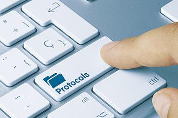 Protocol button
