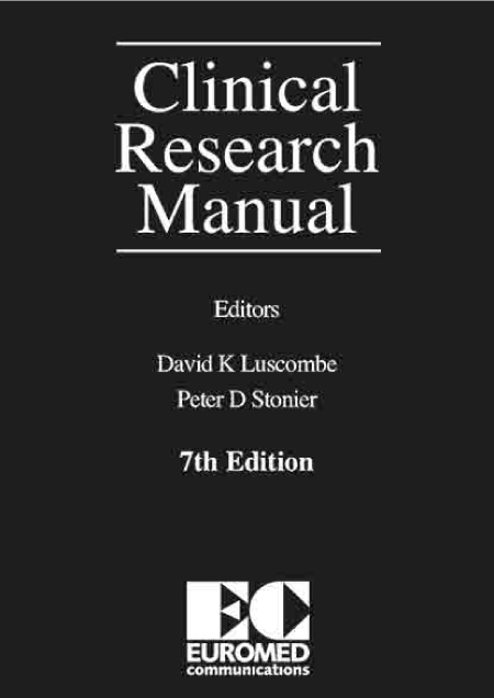 Clinical Research Manual : Hardcover