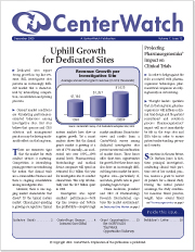 December 2000 – The CenterWatch Monthly : Volume 7, Issue 12, December 2000