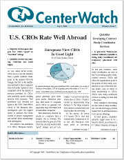 July 1998 - The CenterWatch Monthly : Volume 5, Issue 7, July 1998