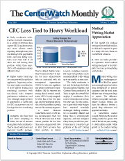 July 2004 – The CenterWatch Monthly : Volume 11, Issue 7, July 2004