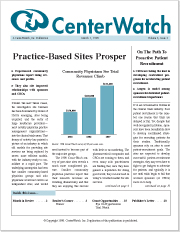 March 1998 - The CenterWatch Monthly : Volume 5, Issue 3, March 1998