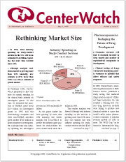 May 1998 - The CenterWatch Monthly : Volume 5, Issue 5, May 1998