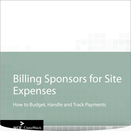 Billing Sponsors for Site Expenses: How to Budget, Handle and Track Payments