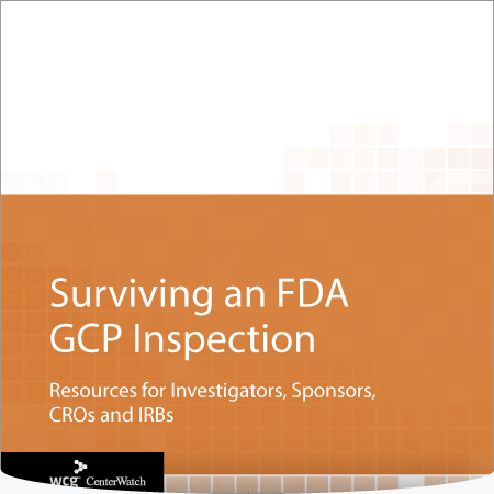 Surviving an FDA GCP Inspection