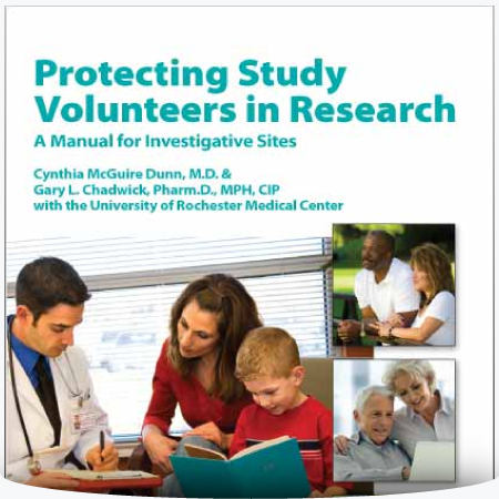 Protecting Study Volunteers in Research
