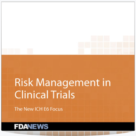 Risk Management in Clinical Trials – The New ICH E6 Focus : PDF