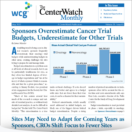 The CenterWatch Monthly Subscription : Digital