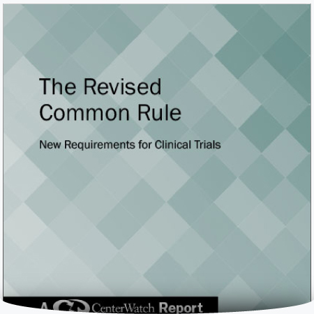 The Revised Common Rule: New Requirements for Clinical Trials : PDF