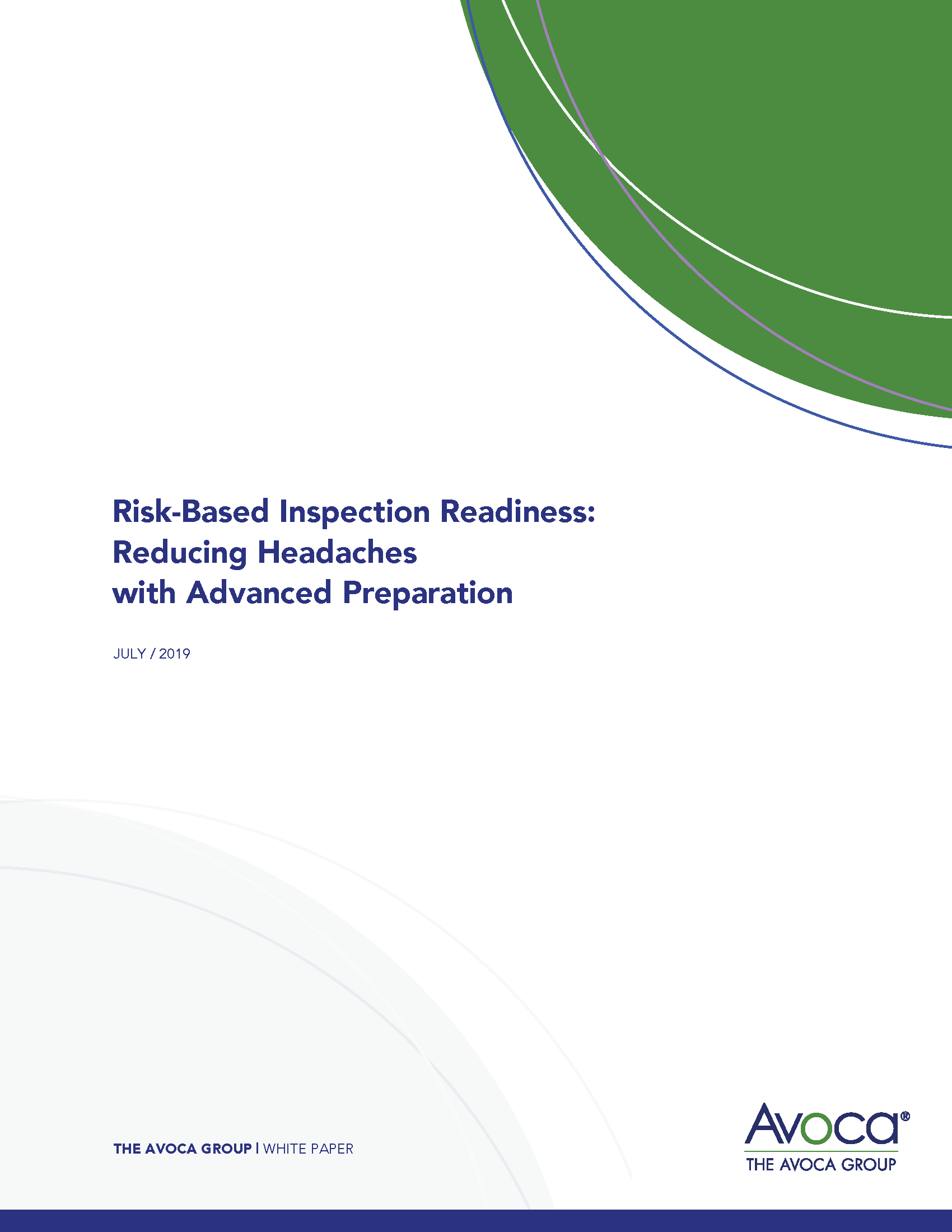 Risk-Based Inspection Readiness