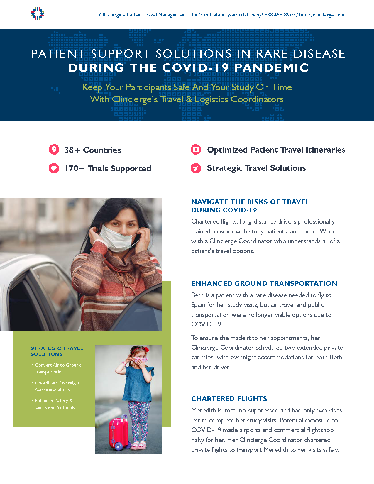 Patient Support Solutions in Rare Disease During the COVID-19 Pandemic