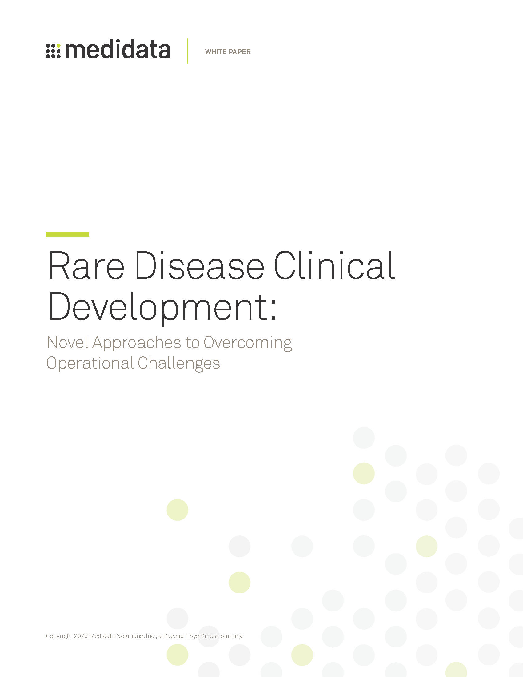 Rare Disease Clinical Development: Novel Approaches to Overcoming Operational Challenges